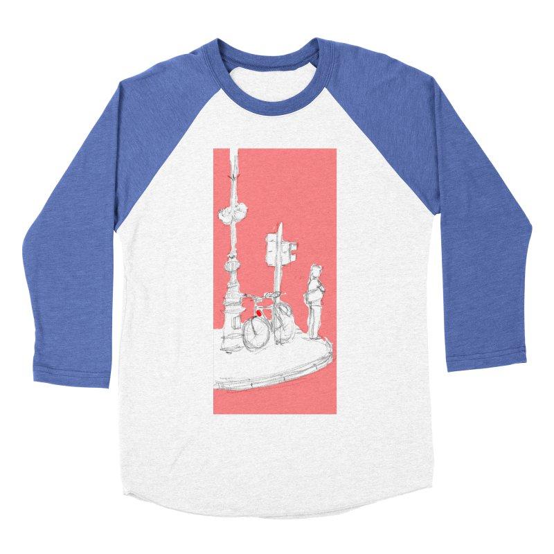 Bike Women's Baseball Triblend T-Shirt by hrbr's Artist Shop