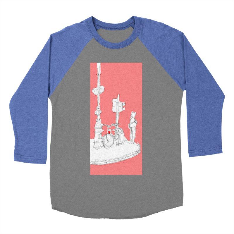 Bike Women's Baseball Triblend Longsleeve T-Shirt by hrbr's Artist Shop
