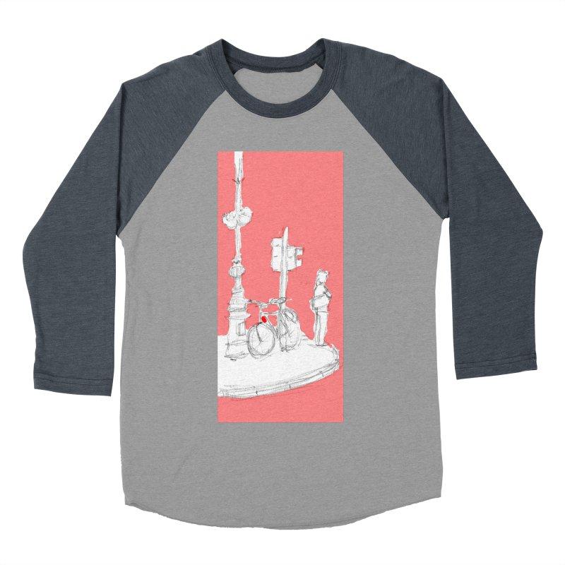Bike Men's Baseball Triblend T-Shirt by hrbr's Artist Shop
