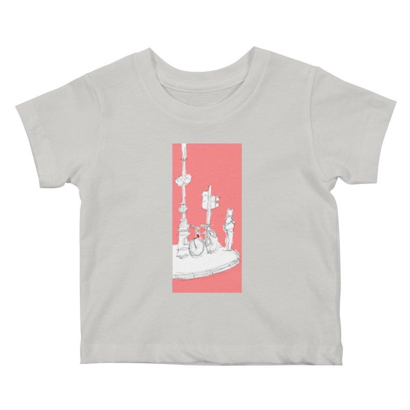 Bike Kids Baby T-Shirt by hrbr's Artist Shop