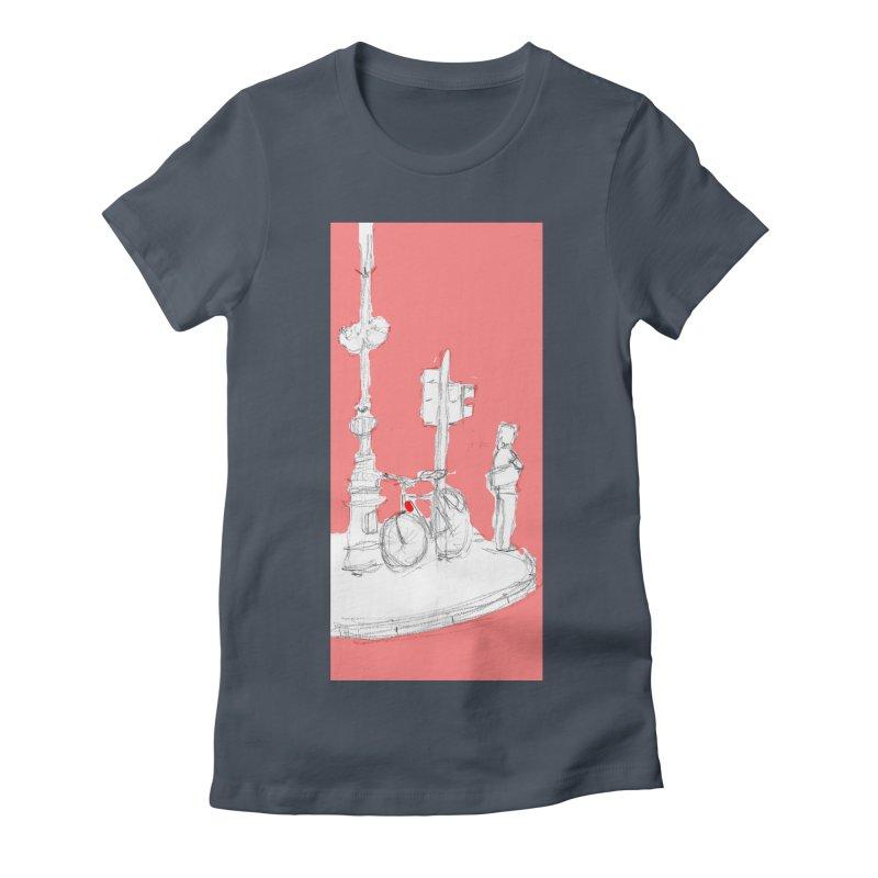 Bike Women's T-Shirt by hrbr's Artist Shop