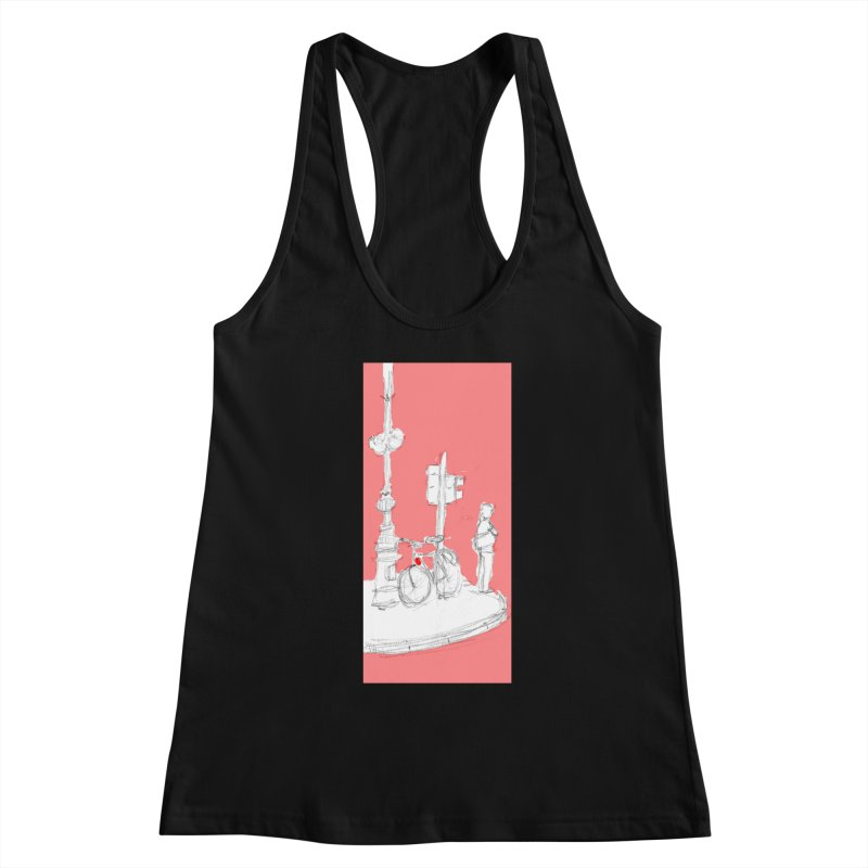 Bike Women's Tank by hrbr's Artist Shop