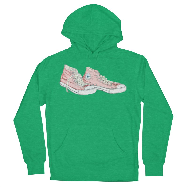 All Star Women's French Terry Pullover Hoody by hrbr's Artist Shop