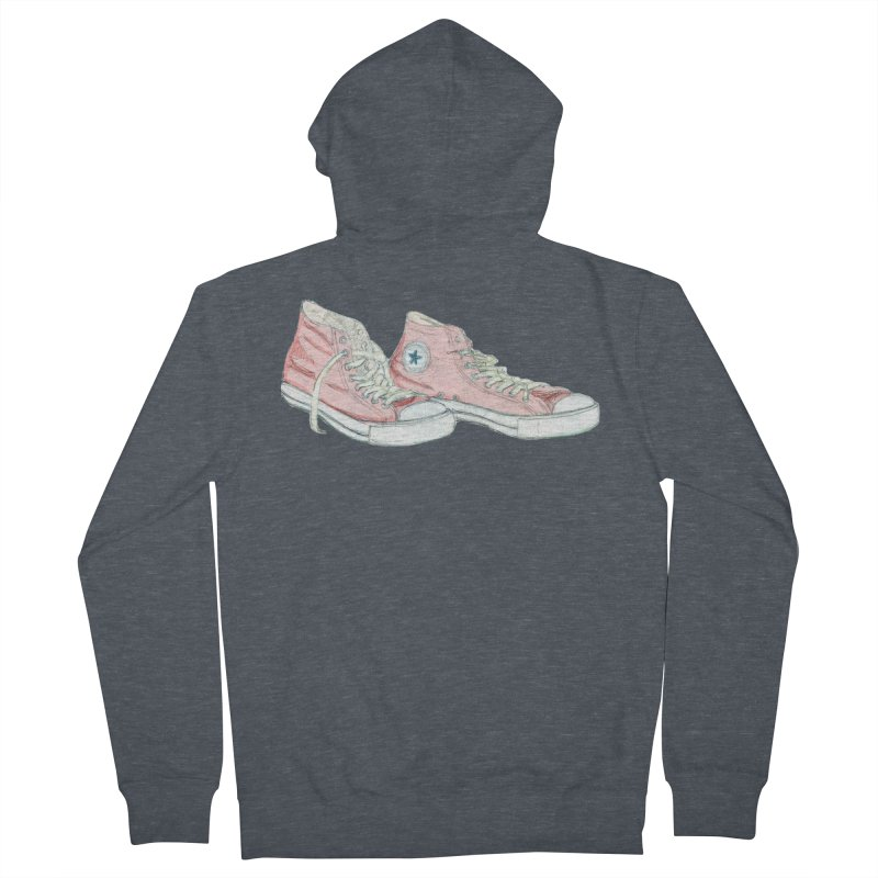 All Star Women's French Terry Zip-Up Hoody by hrbr's Artist Shop