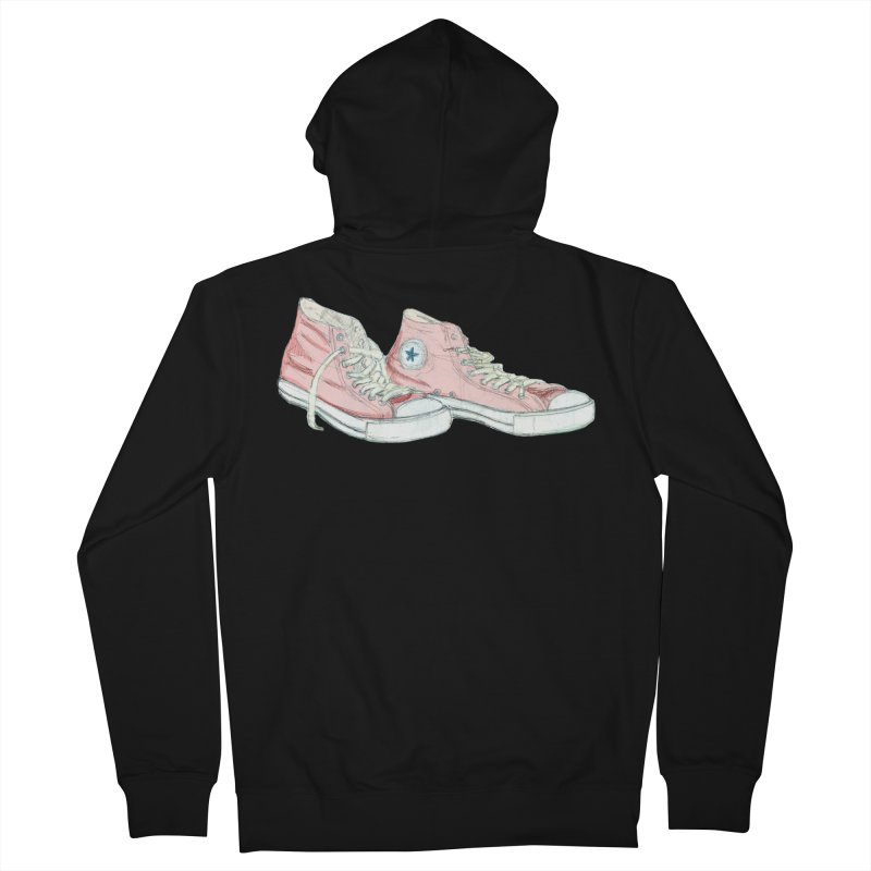 All Star Men's French Terry Zip-Up Hoody by hrbr's Artist Shop
