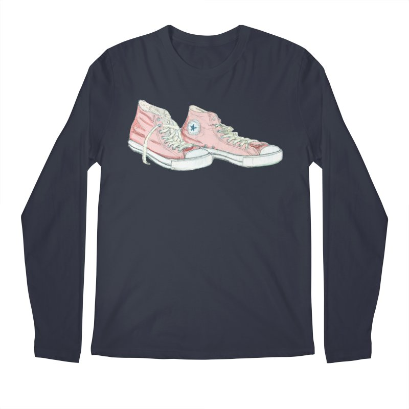 All Star Men's Longsleeve T-Shirt by hrbr's Artist Shop