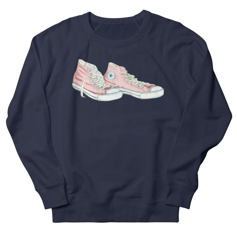 All Star Women's French Terry Sweatshirt by hrbr's Artist Shop