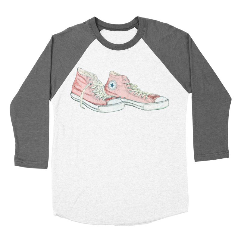 All Star Women's Baseball Triblend T-Shirt by hrbr's Artist Shop