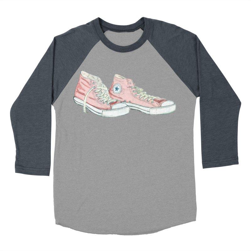 All Star Women's Baseball Triblend Longsleeve T-Shirt by hrbr's Artist Shop