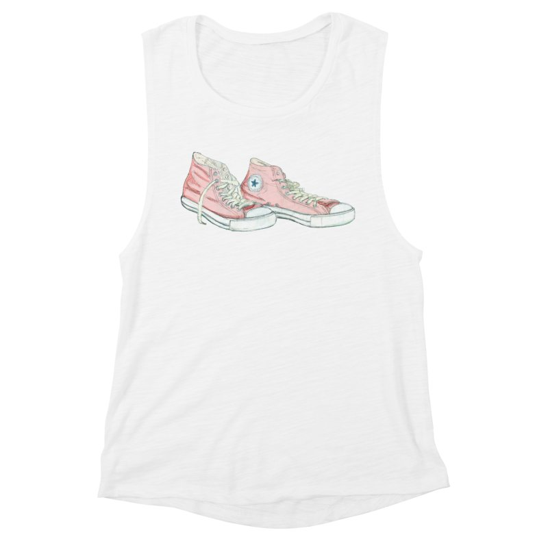 All Star Women's Muscle Tank by hrbr's Artist Shop