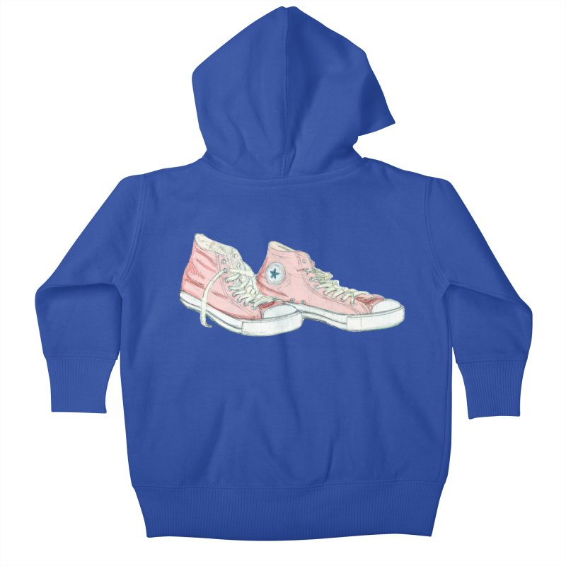 All Star Kids Baby Zip-Up Hoody by hrbr's Artist Shop