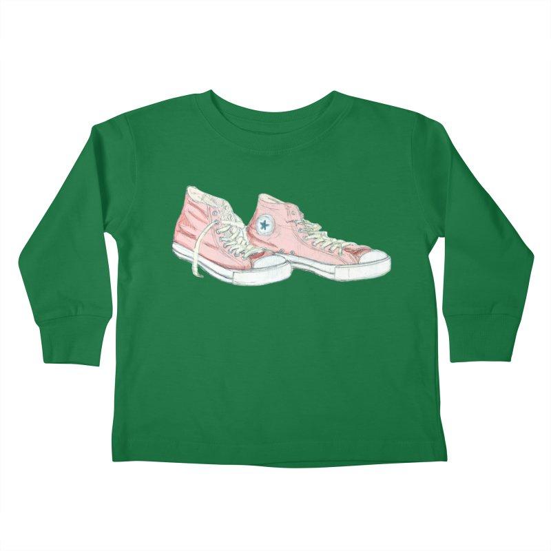 All Star Kids Toddler Longsleeve T-Shirt by hrbr's Artist Shop