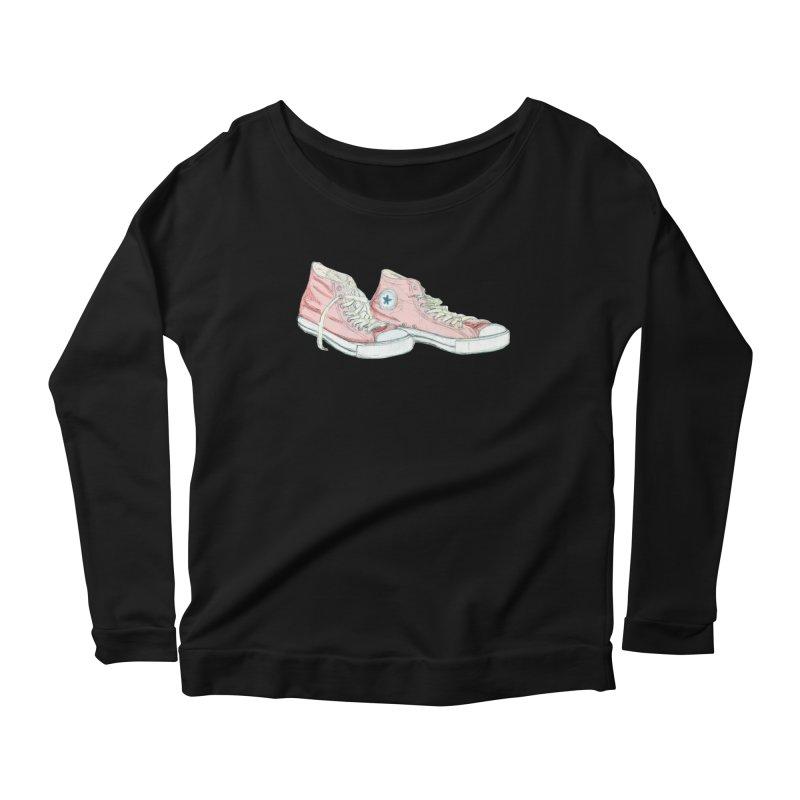 All Star Women's Scoop Neck Longsleeve T-Shirt by hrbr's Artist Shop