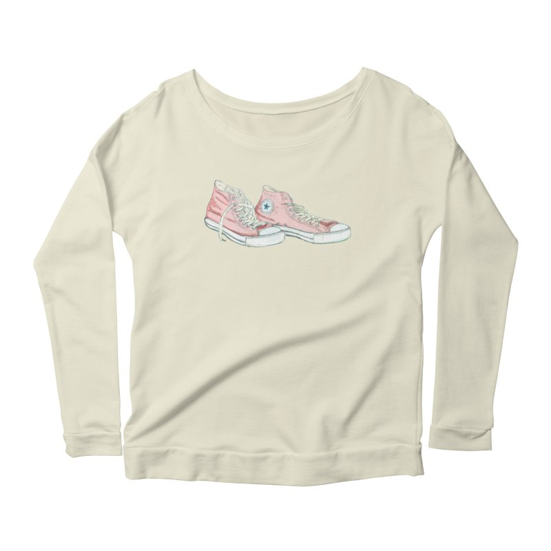 All Star Women's Scoop Neck Longsleeve T-Shirt by hrbr's Artist Shop