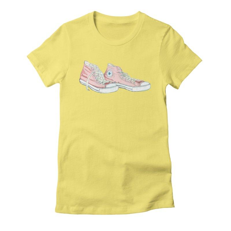 All Star Women's Fitted T-Shirt by hrbr's Artist Shop