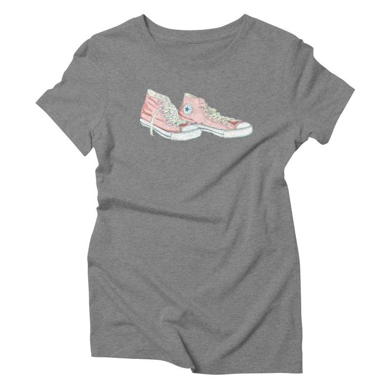 All Star Women's Triblend T-shirt by hrbr's Artist Shop