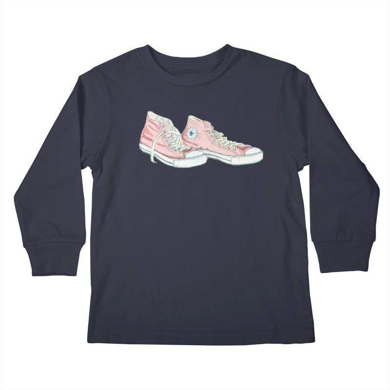 All Star Kids Longsleeve T-Shirt by hrbr's Artist Shop