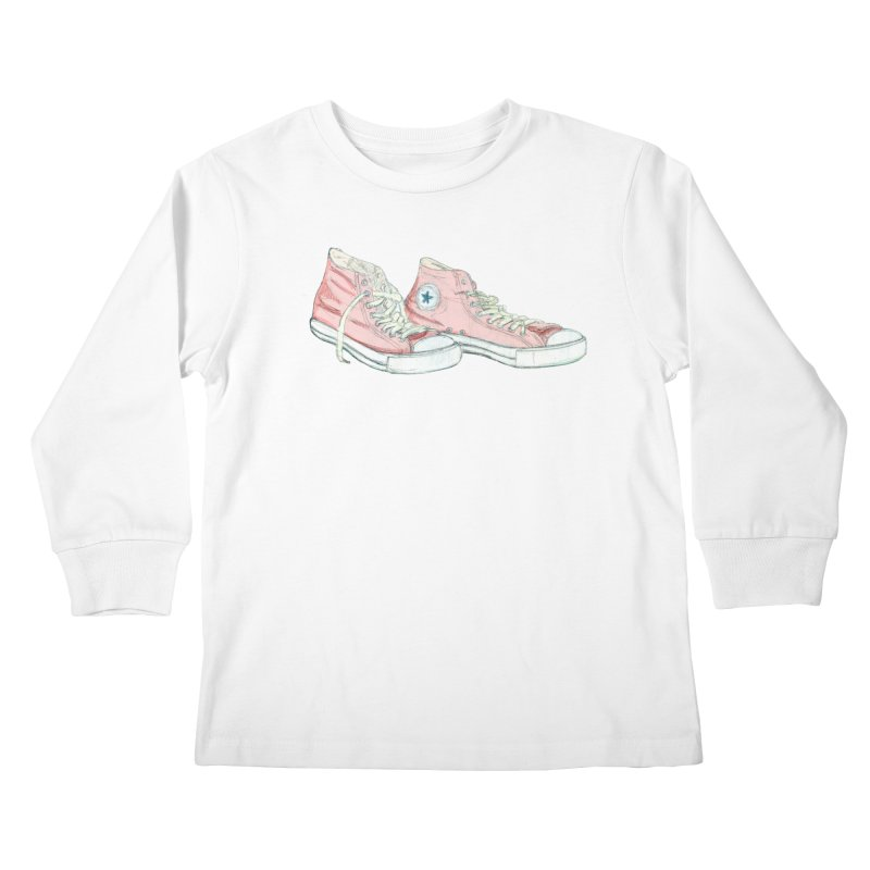 All Star Kids Longsleeve T-Shirt by hrbr's Artist Shop