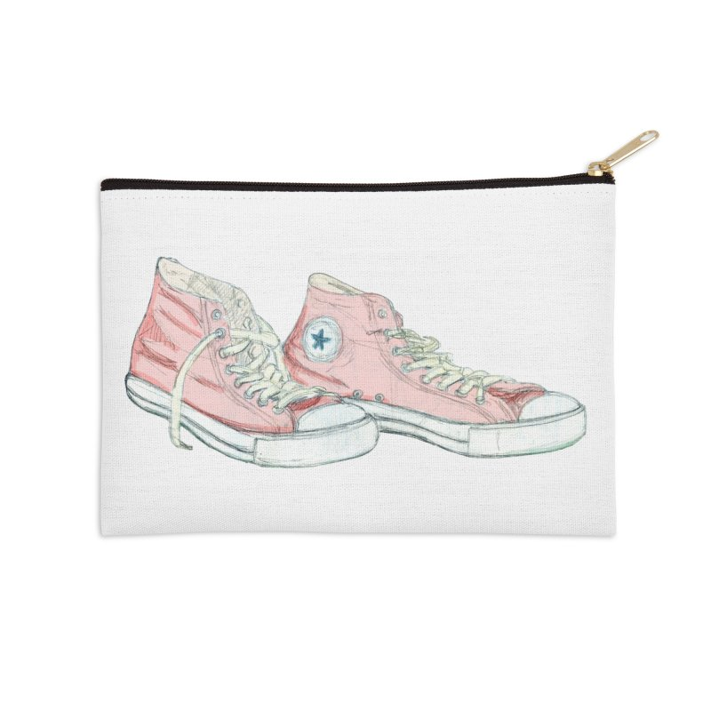 All Star Accessories Zip Pouch by hrbr's Artist Shop
