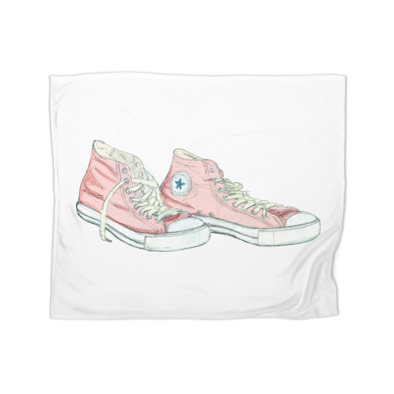 All Star Home Fleece Blanket Blanket by hrbr's Artist Shop