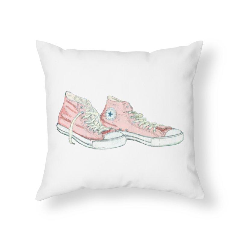 All Star Home Throw Pillow by hrbr's Artist Shop