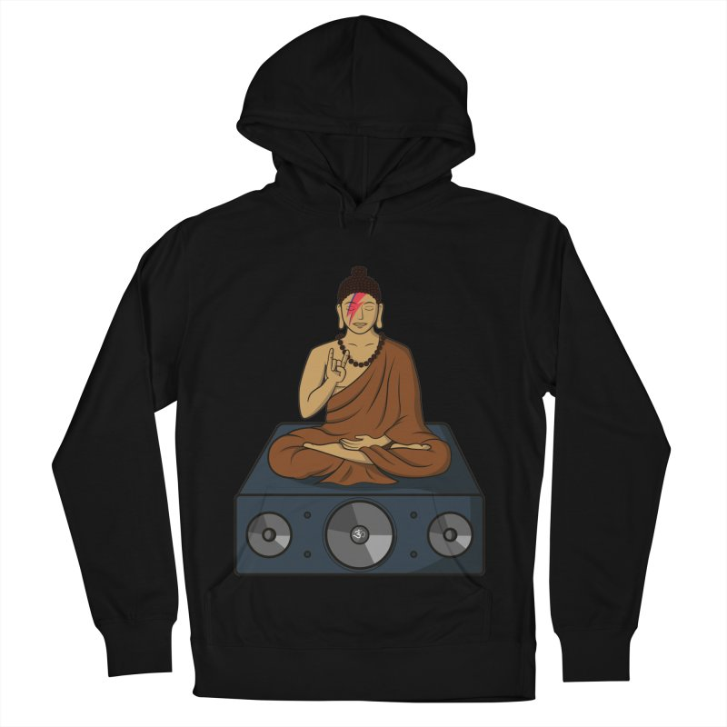 Rockin' Buddha Men's Pullover Hoody by hristodonev's Artist Shop