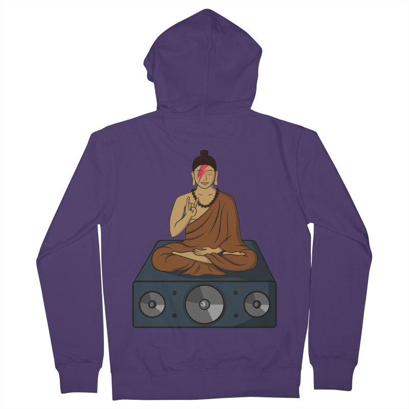 Rockin' Buddha Women's Zip-Up Hoody by hristodonev's Artist Shop