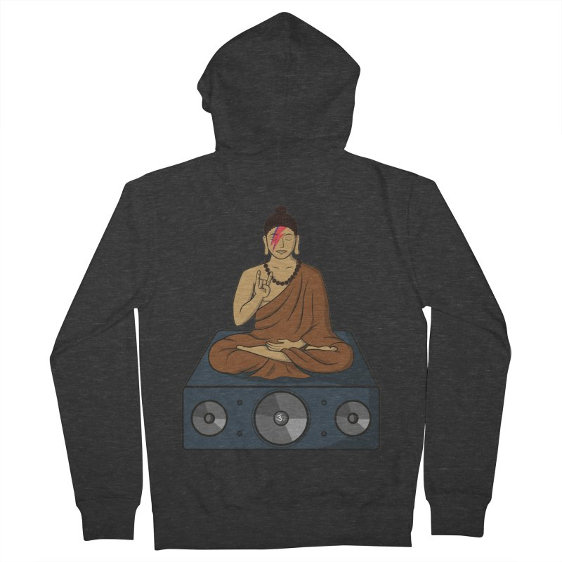 Rockin' Buddha Men's Zip-Up Hoody by hristodonev's Artist Shop