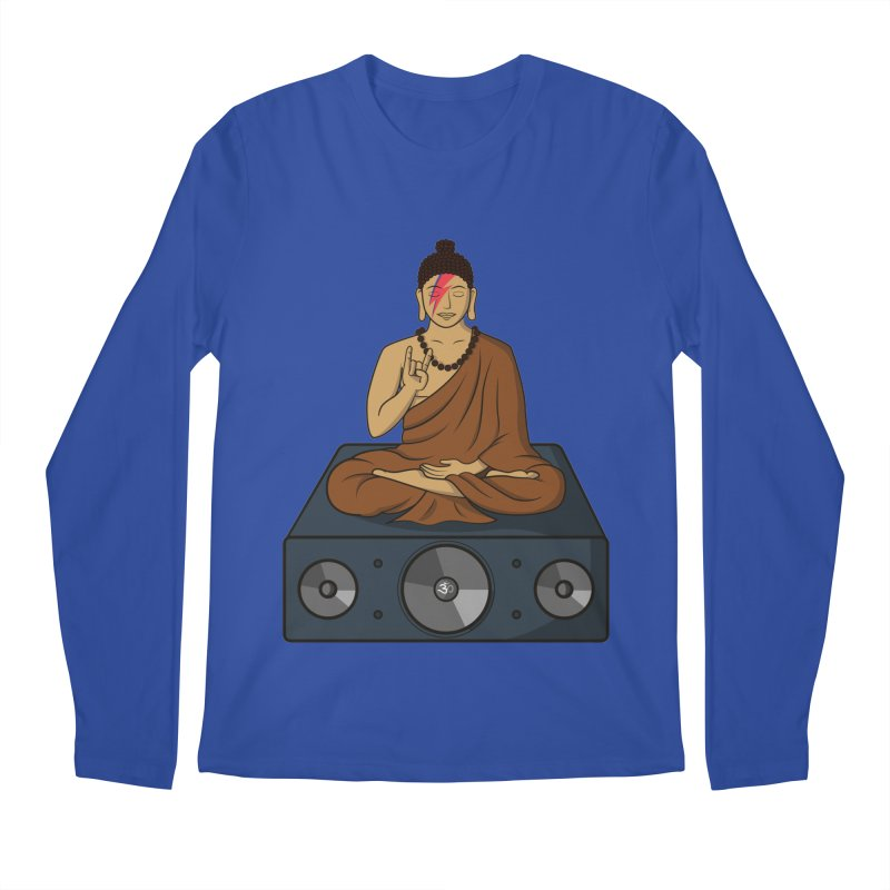 Rockin' Buddha Men's Longsleeve T-Shirt by hristodonev's Artist Shop