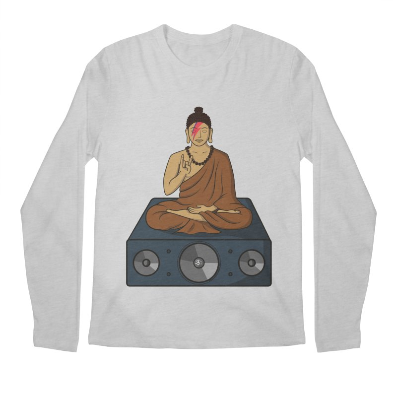 Rockin' Buddha Men's Longsleeve T-Shirt by hristodonev's Artist Shop