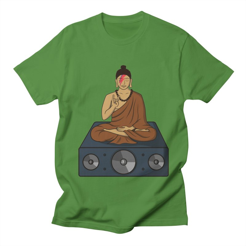 Rockin' Buddha Women's Unisex T-Shirt by hristodonev's Artist Shop