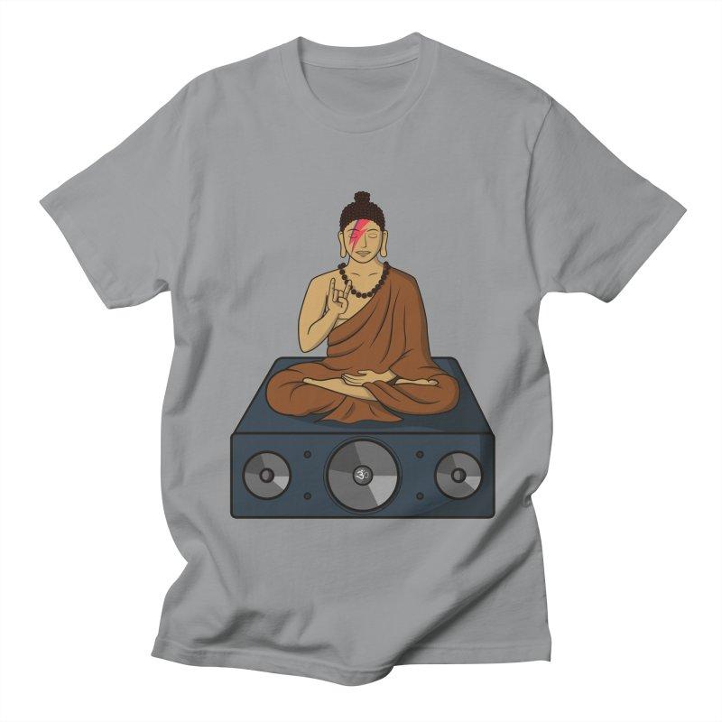 Rockin' Buddha Men's T-Shirt by hristodonev's Artist Shop