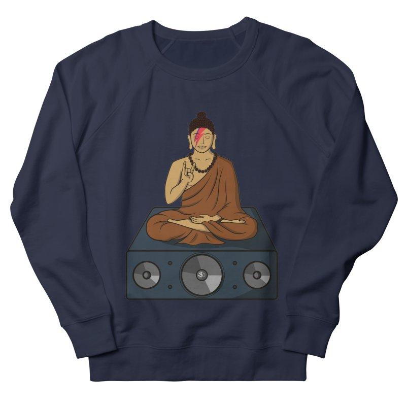 Rockin' Buddha Men's Sweatshirt by hristodonev's Artist Shop