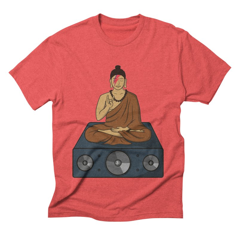 Rockin' Buddha Men's Triblend T-Shirt by hristodonev's Artist Shop