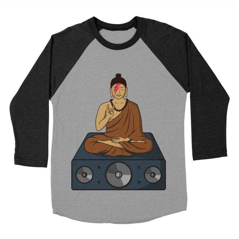 Rockin' Buddha Women's Baseball Triblend T-Shirt by hristodonev's Artist Shop