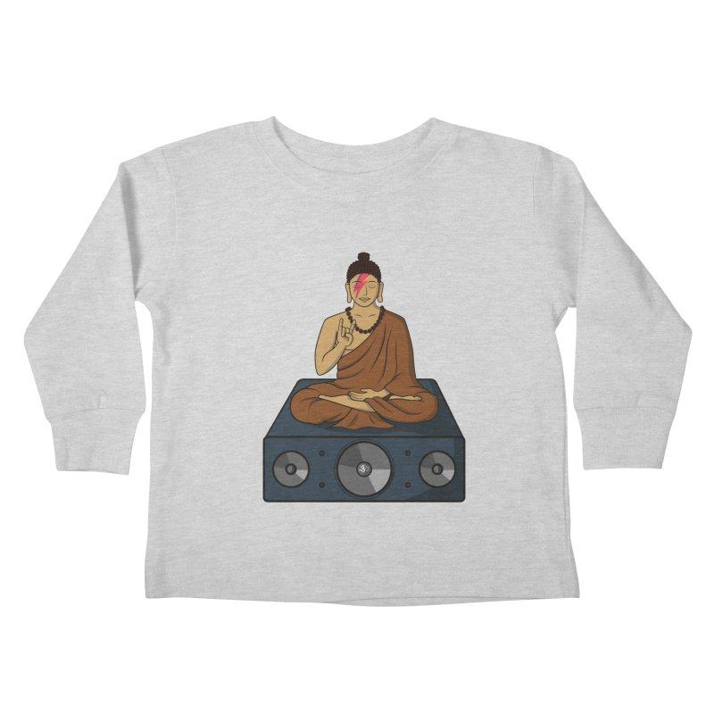 Rockin' Buddha Kids Toddler Longsleeve T-Shirt by hristodonev's Artist Shop