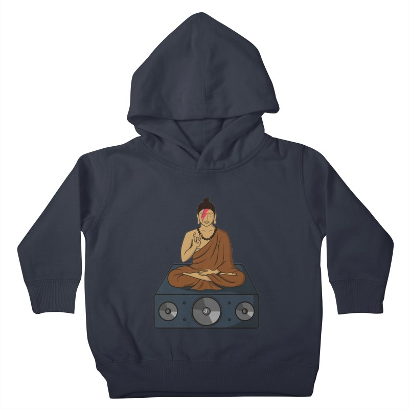 Rockin' Buddha Kids Toddler Pullover Hoody by hristodonev's Artist Shop
