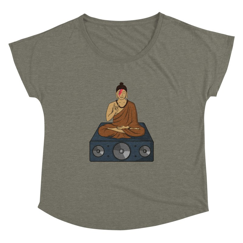 Rockin' Buddha Women's Dolman by hristodonev's Artist Shop
