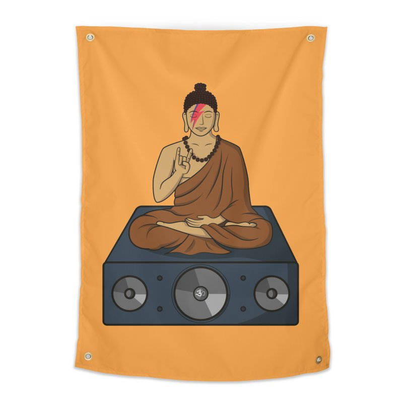 Rockin' Buddha Home Tapestry by hristodonev's Artist Shop