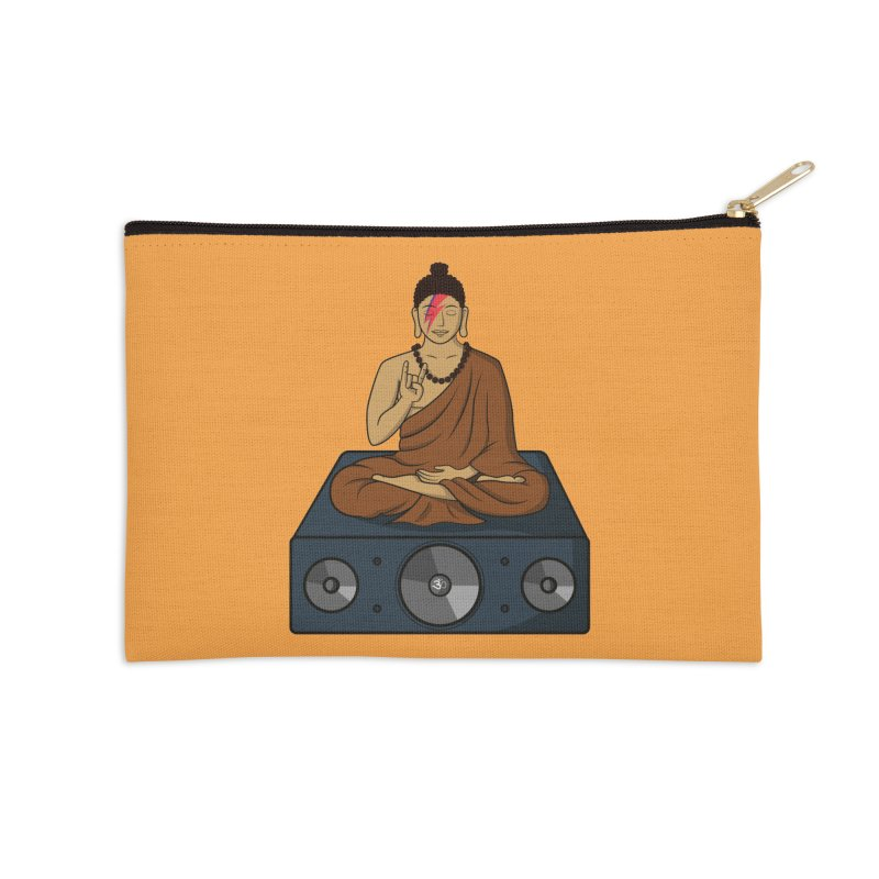 Rockin' Buddha Accessories Zip Pouch by hristodonev's Artist Shop