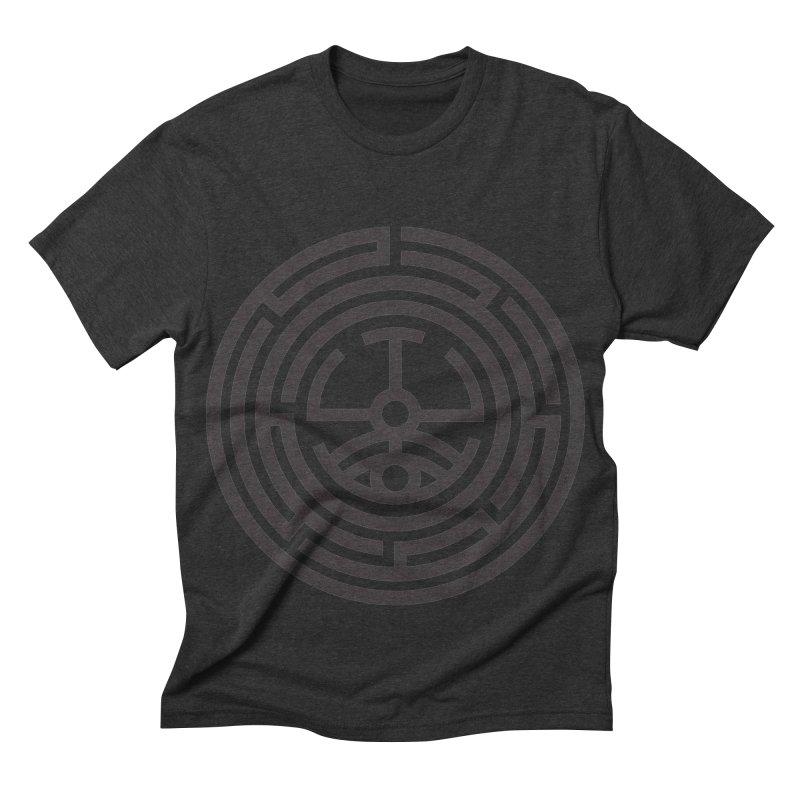 The Life Rune Men's Triblend T-shirt by hristodonev's Artist Shop