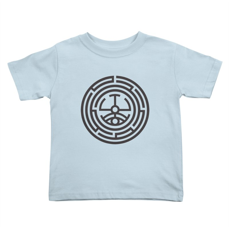The Life Rune Kids Toddler T-Shirt by hristodonev's Artist Shop