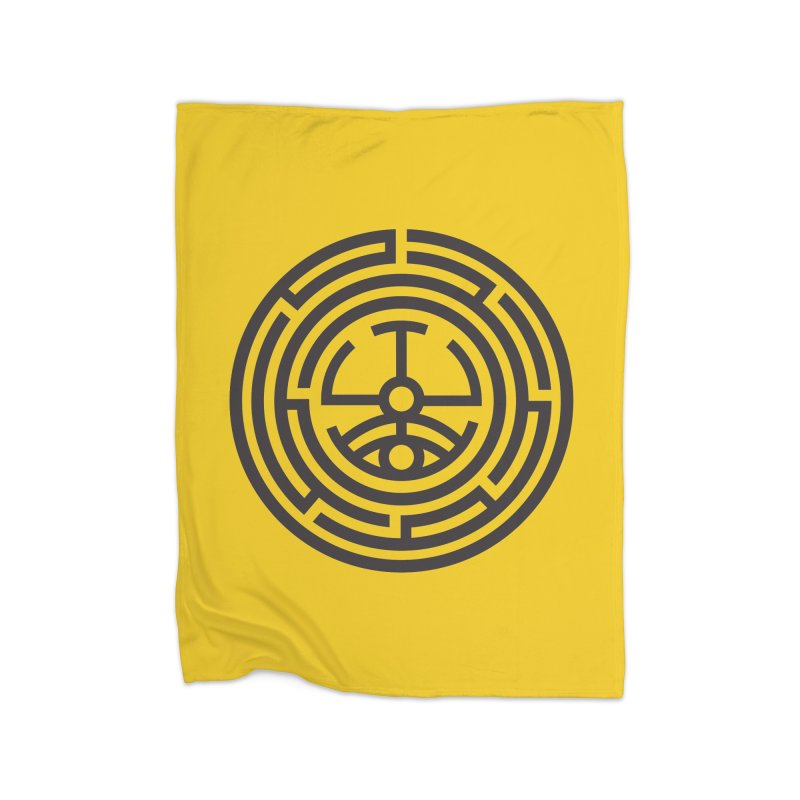 The Life Rune Home Blanket by Hristo's Shop