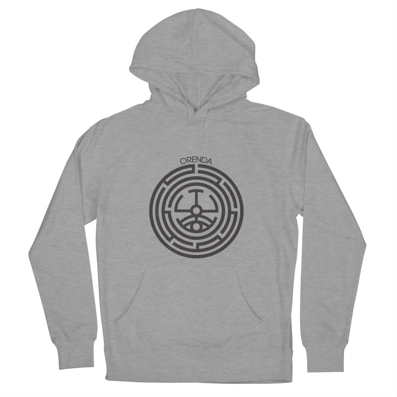 The Life Rune Women's French Terry Pullover Hoody by Hristo's Shop