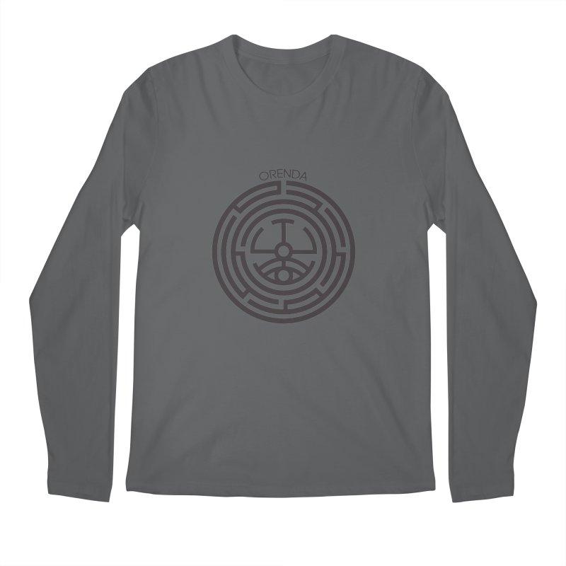 The Life Rune Men's Regular Longsleeve T-Shirt by Hristo's Shop