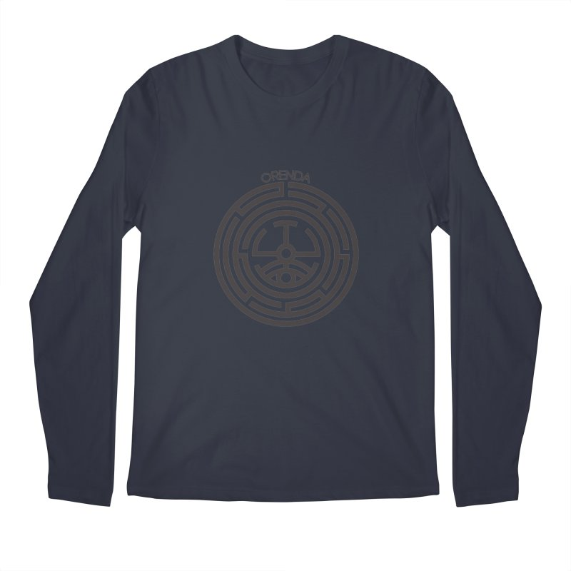 The Life Rune Men's Regular Longsleeve T-Shirt by Hristo's Shop