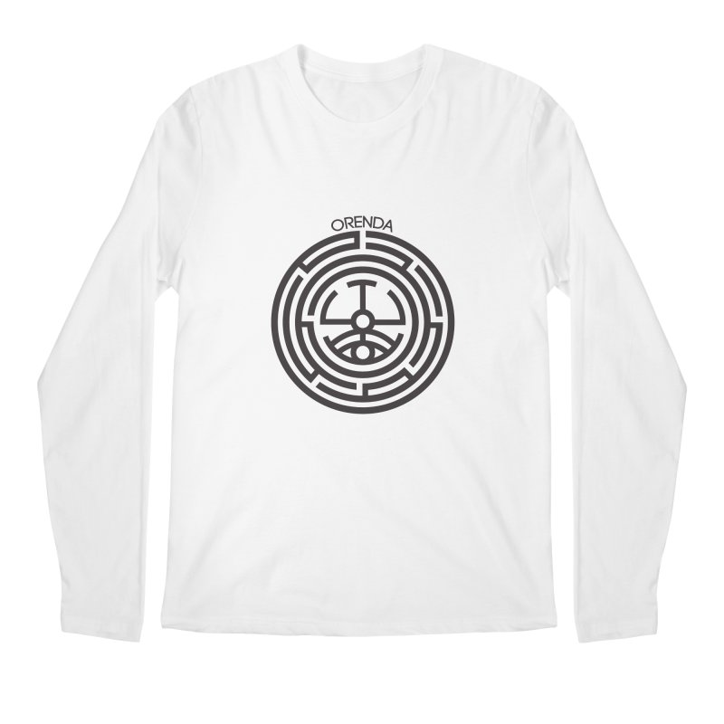 The Life Rune Men's Longsleeve T-Shirt by hristodonev's Artist Shop