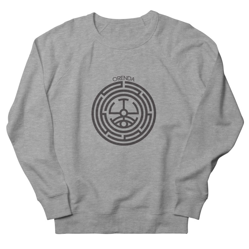 The Life Rune Women's French Terry Sweatshirt by Hristo's Shop