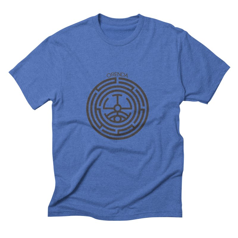 The Life Rune Men's Triblend T-Shirt by hristodonev's Artist Shop
