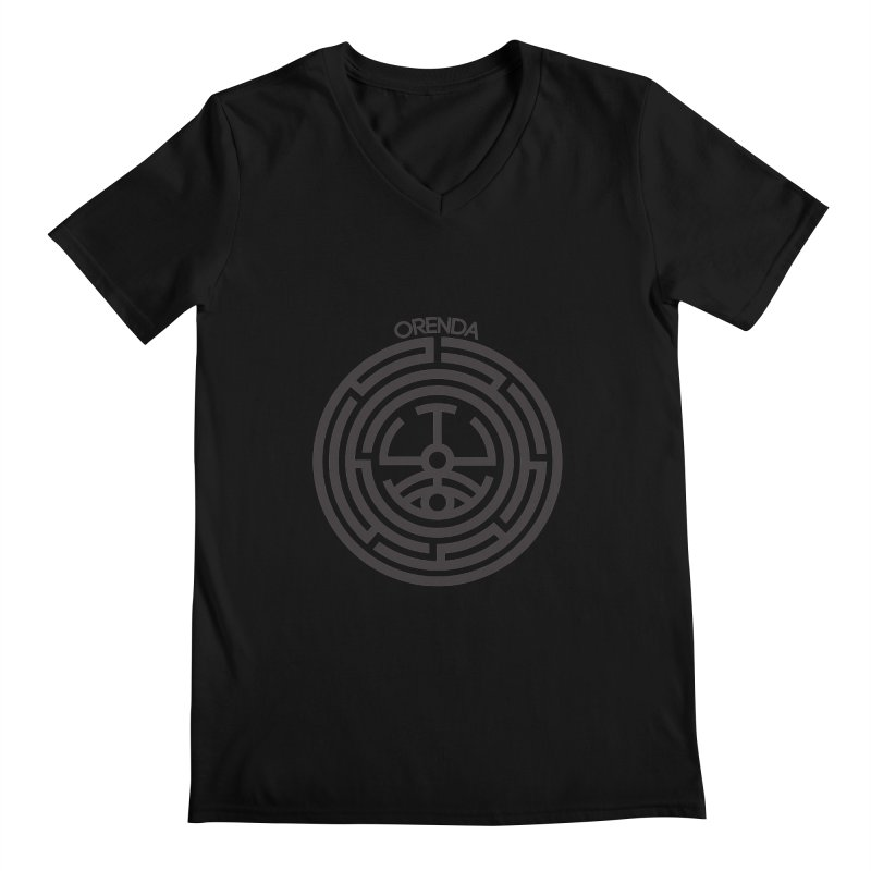 The Life Rune Men's V-Neck by Hristo's Shop